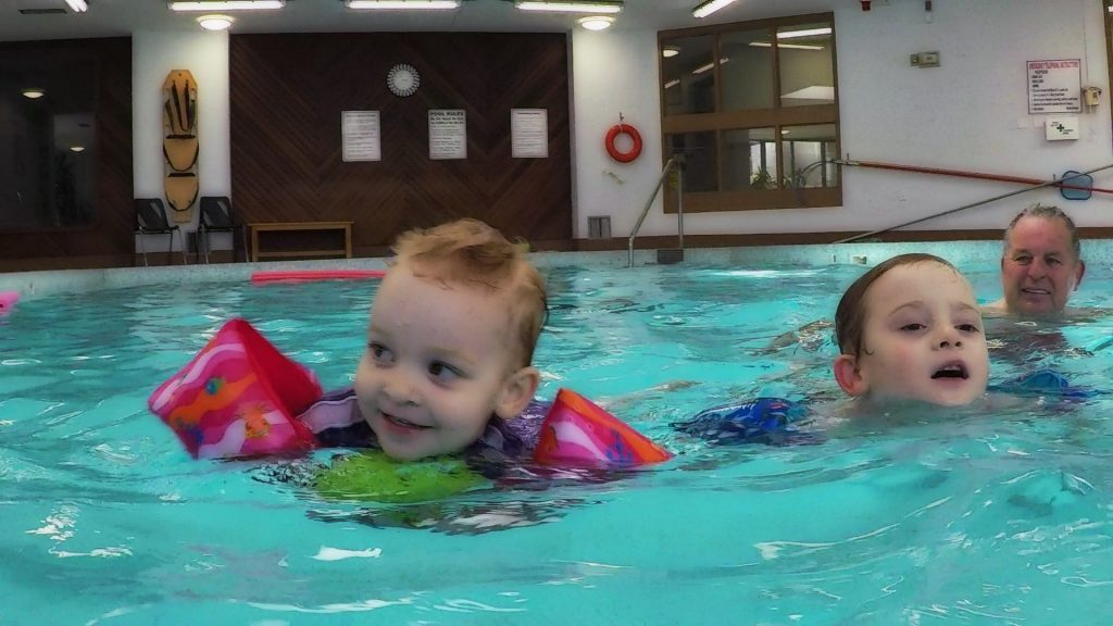 unschool swimming lessons