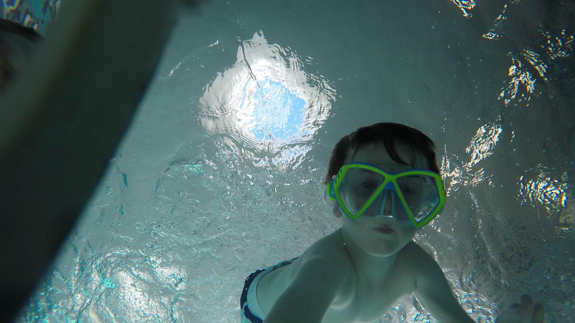 unschooling in the pool