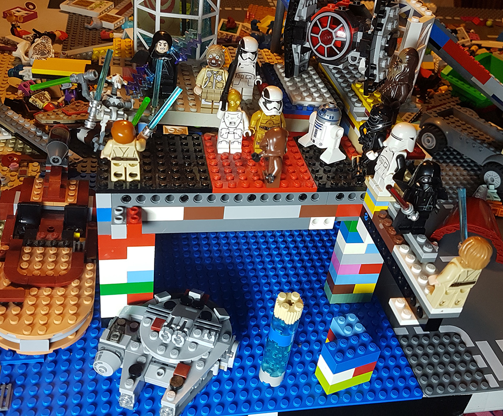 lego star wars structure